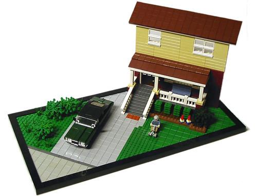 LEGO® brand store window box