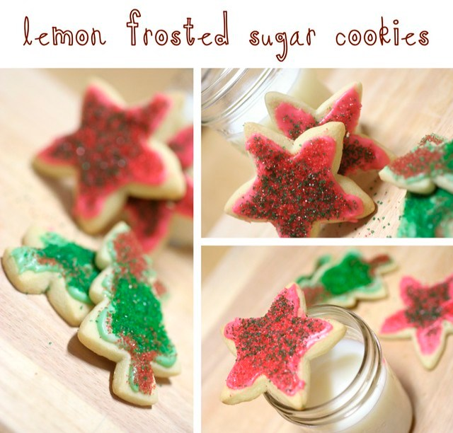 Lemon-Frosted Sugar Cookies