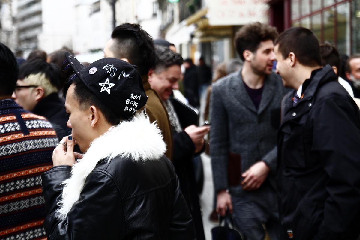 Tuukka13 - 2012_01_20 Street Style outside Junya Watanabe, Mens Fashion Week Paris - 17