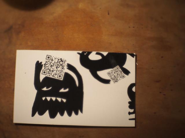 Max Infeld's card design