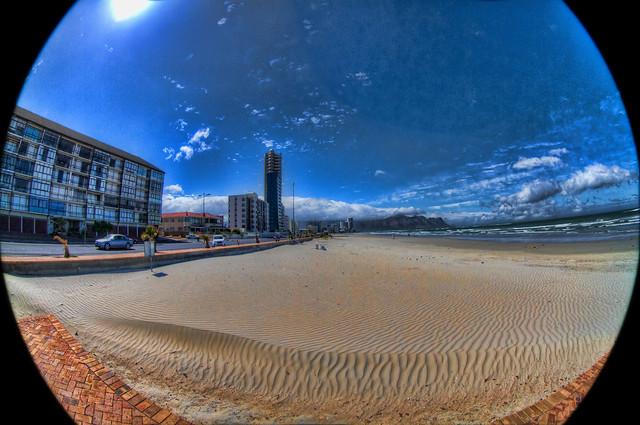 Strand beach Fisheye
