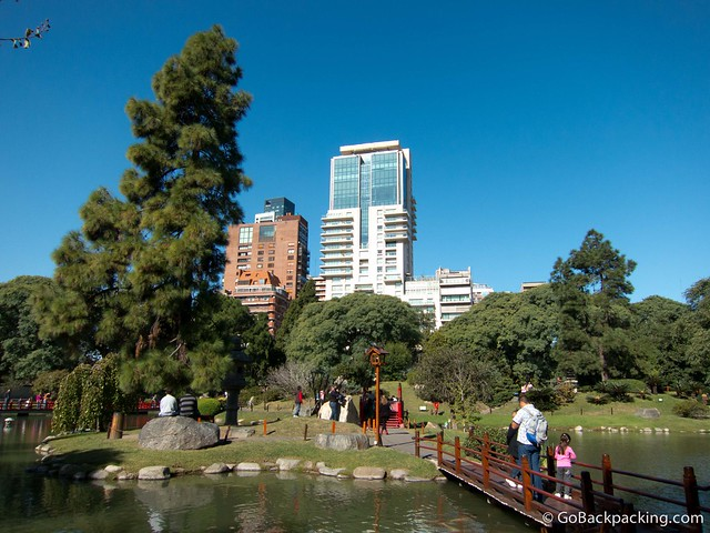 Japanese gardens in Buenos Aires