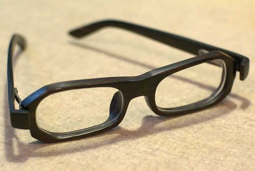 Wood Frame Glasses 2