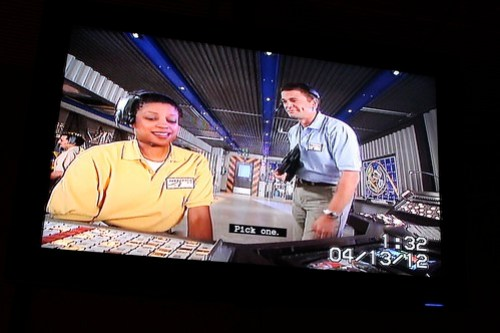 Pre-show - Test Track at Epcot