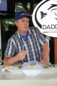 Jon Crofts of Codfathers shucking oysters in Kelowna