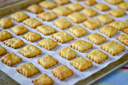 Homemade Cheese Crackers 12