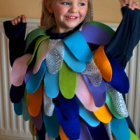 Character Costumes for World Book Week. Rainbow Fish