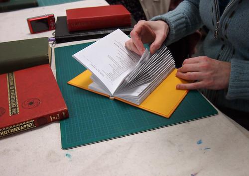 Altered Book Workshop at Blim - Student Work