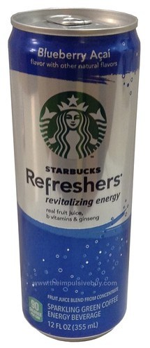 Blueberry Acai Starbucks Refreshers