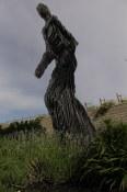 Sculpture outside Tantalus Vineyards above Kelowna