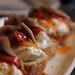 Anchovy & Burrata Toasts at Gjelina on Abbot Kinney