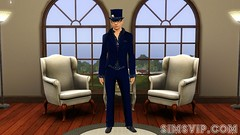 Magician Career Outfit (Level 5 and 6) Male