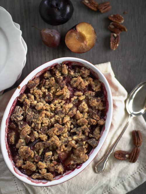 plum and px crumble