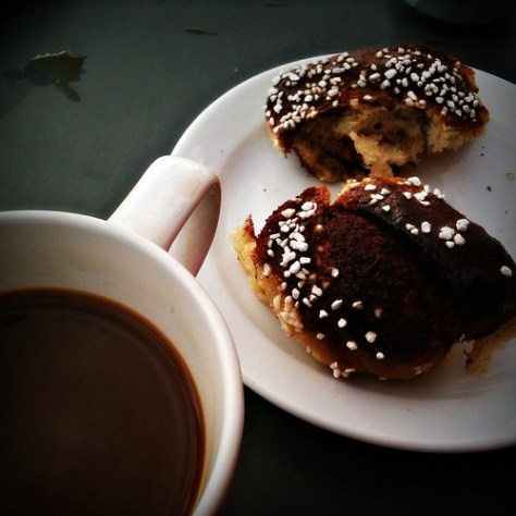 Coffee and Cinnamon Pastry