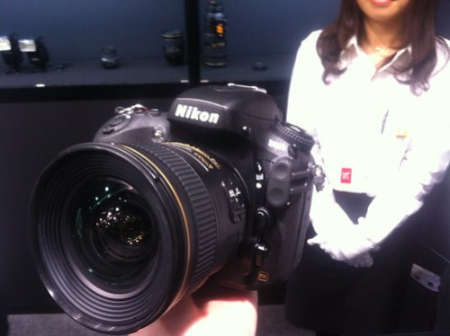 Nikon D800 - CP+ CP+ Camera & Photo Imaging Show 2012