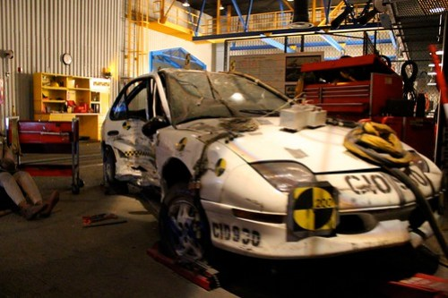 Crash test - Test Track at Epcot