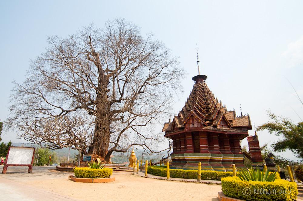 Octagonal Pavilion in Jingzhen, China