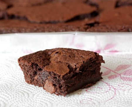 Amaretto Coffee Brownies