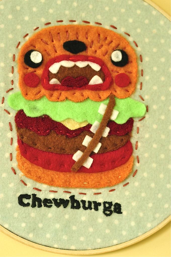 Chewburga for the Sew Nerdy Show