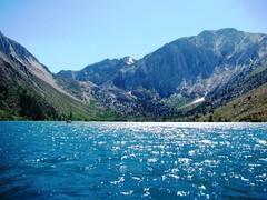 Boating on Convict Lake