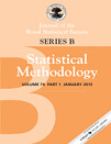 Journal of the Royal Statistical Society - Series B: Statistical Methodology