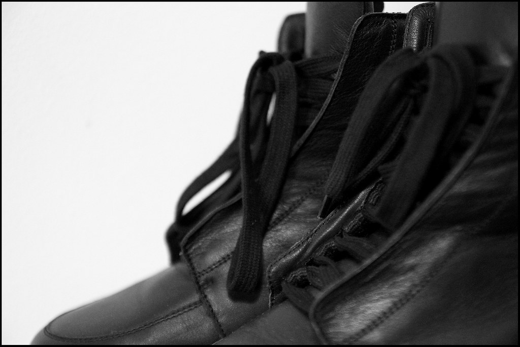 Tuukka13 - Sneak(er) Preview - My New Kris Van Assche High Top Sneakers x2 - Surgery and Hidden Laces - 6
