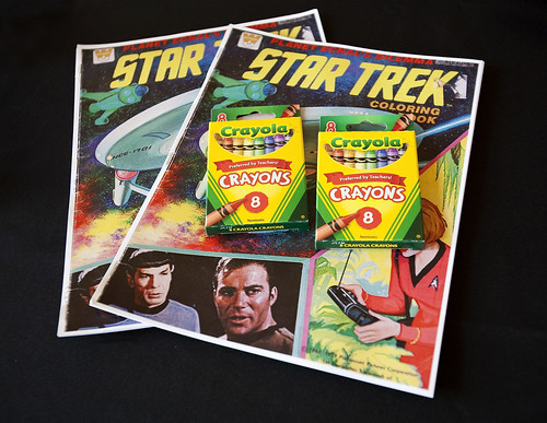 Star Trek coloring books
