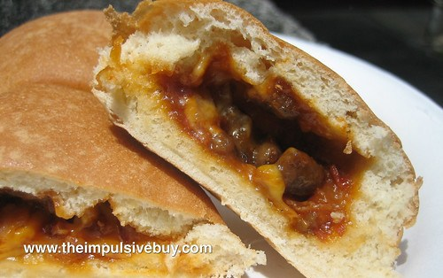 Hot Pockets Limited Edition BBQ Recipe Bacon Burger Closeup