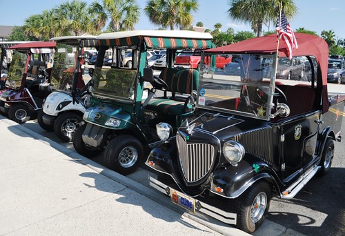 Golf Carts, The Villages, Fla., May 10, 2012