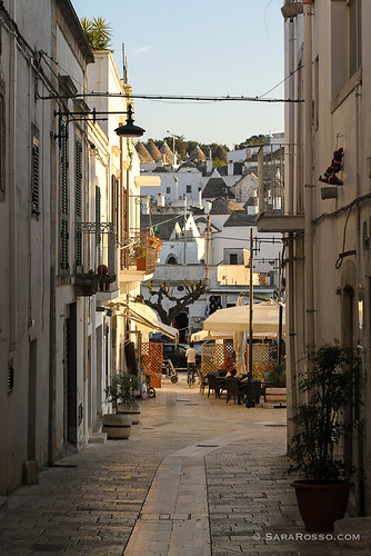 Modern neighborhood, trullo neighborhood, Alberobello, Puglia