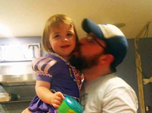 Teagan and UNCLE Nate