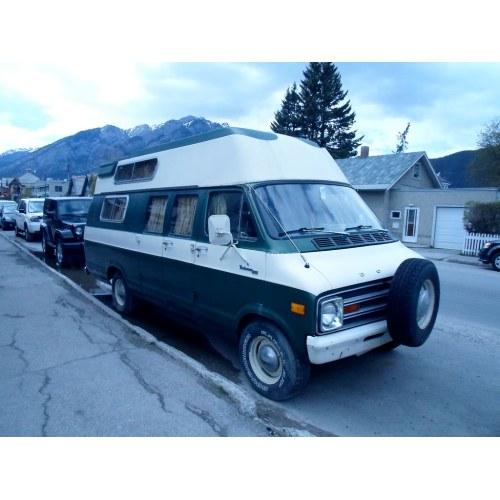 Medium Crop Of Dodge Camper Van