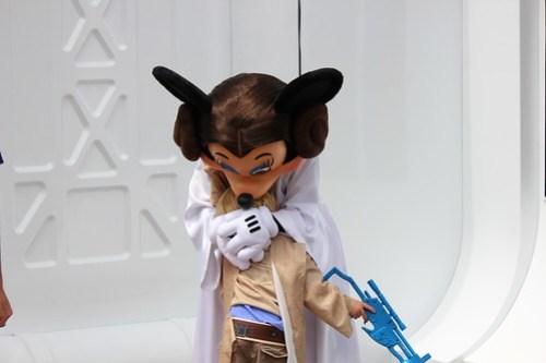 Princess Leia Minnie Mouse