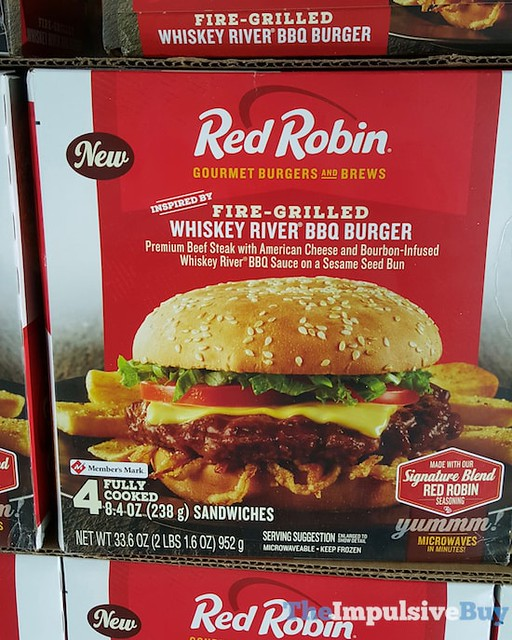 Red Robin Fire-Grilled Whiskey River BBQ Burger