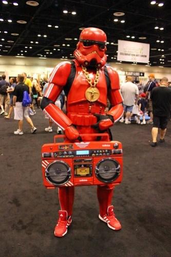 Hip Hop Stormtrooper - Star Wars Celebration VI