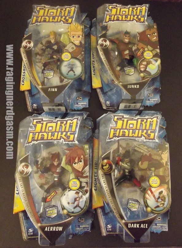 "Storm Hawks 6"" Action Figures"