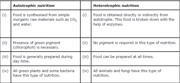 NCERT Solutions for Class 10th Science Chapter 6 Life Processes