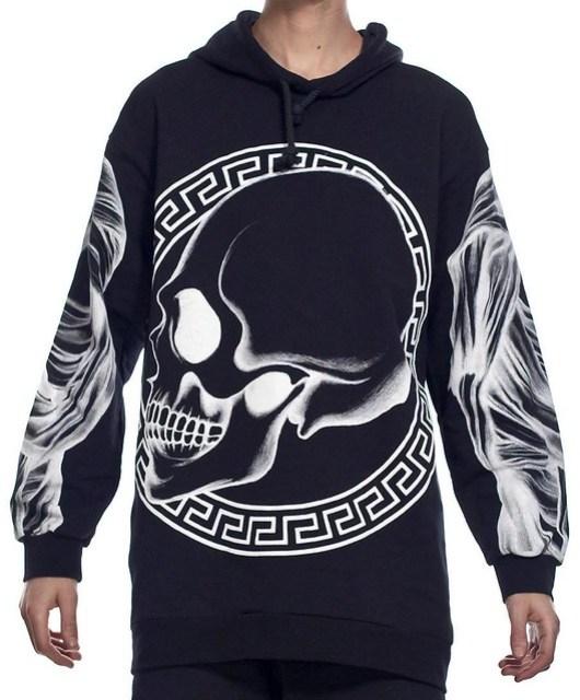 Daniel Palillo Skull Hoodie 2