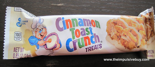 Cinnamon Toast Crunch Treats Wrapper