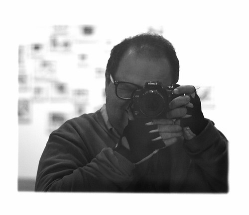 Autoretrato com câmera