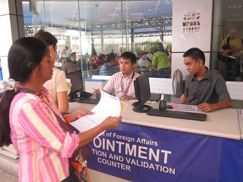 DFA passport renewal
