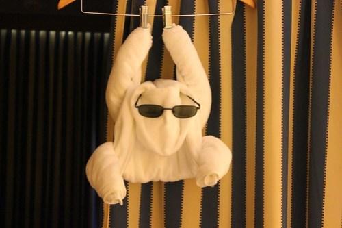 Towel Sculpture - Disney Fantasy