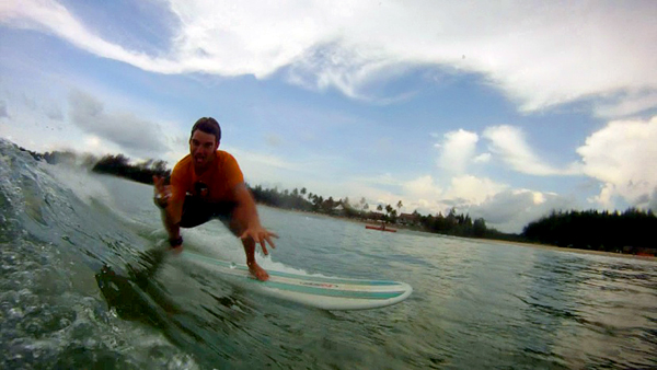Surfing Khao Lak