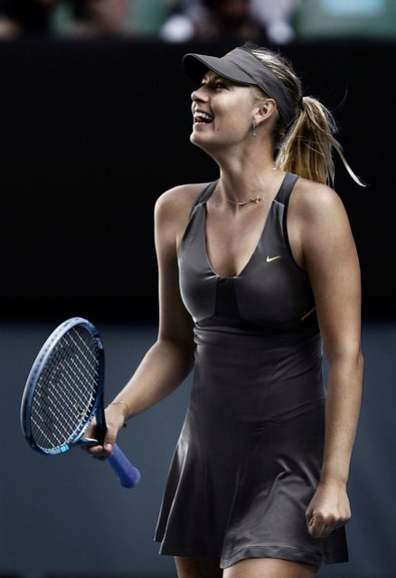 Maria Sharapova US Open dress - night