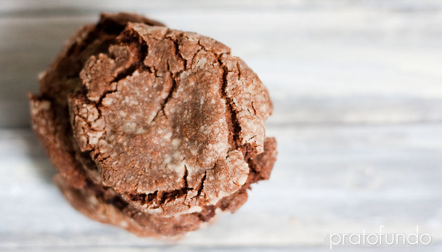 Cookies de Chocolate & Creme de Avelã / Chocolate & Hazelnut Spread Cookies