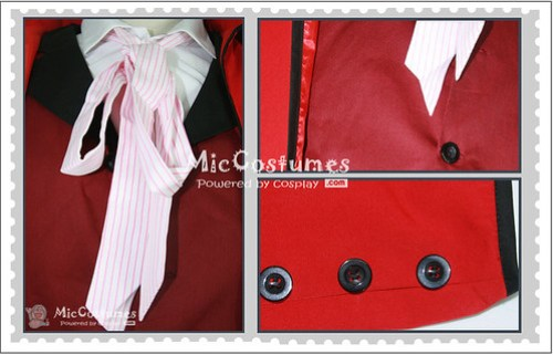 Black Butler Grell Sutcliff Cosplay Costume_1