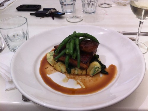 Pork Belly with mash & beans at Table 78