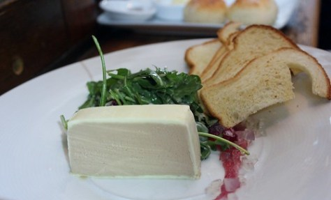 'THIESSENS' DUCK PARFAIT  pear jelly, brioche toast