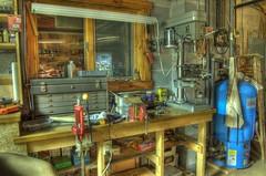 Darron's messy workbench
