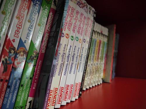 my manga shelf 2